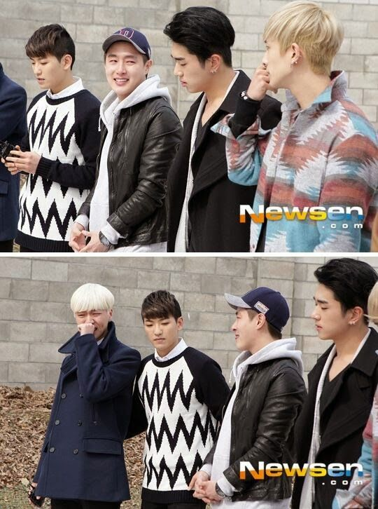 100% send Minwoo off to army, Sanghoon bursts into tears - Latest K-pop News - K-pop News | Daily K Pop News