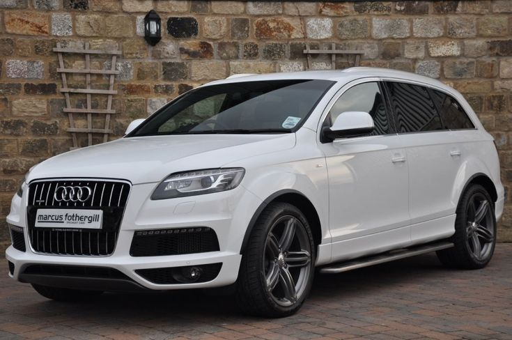 Audi TDI Q7....LOVE IT!!!!!  MAYBE ONE DAY IF I HIT LOTTO!!