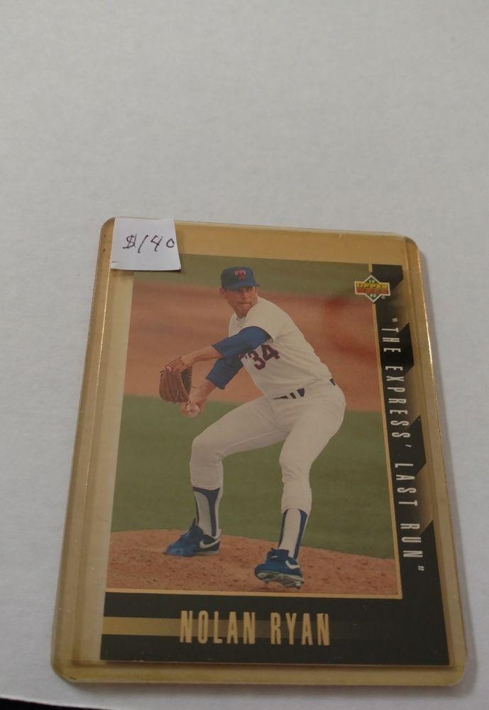 1993 Upper Deck Nolan Ryan Texas Rangers Sp6 Baseball Card