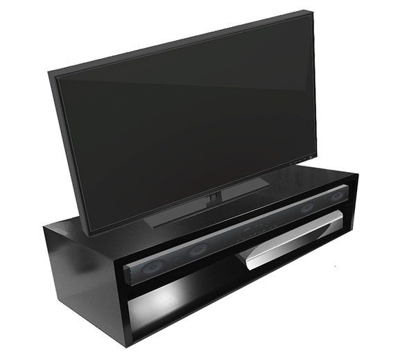 Amazon.com: Tabletop TV Stand-Deluxe for Flat Screen (Black) | RIZERvue: Kitchen & Dining