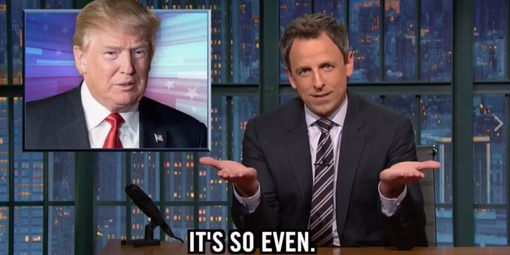 Seth Meyers lists 26 faults Donald Trump's been accused of - Business Insider
