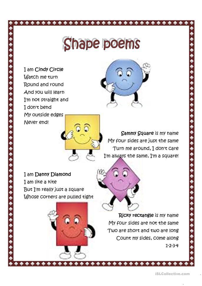 shape poem worksheet free esl printable worksheets made by teachers shape poems preschool. Black Bedroom Furniture Sets. Home Design Ideas