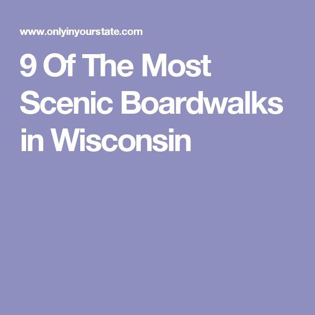 9 Of The Most Scenic Boardwalks in Wisconsin