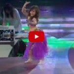 MICHELLE Bailando Ojos Asi de Shakira en Pequeños Gigantes
