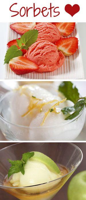 Erfrischende Sorbet-Rezepte ganz leicht selber machen: http://www.bildderfrau.de/rezepte/sorbet-rezept-s1485637.html #sorbet #eis