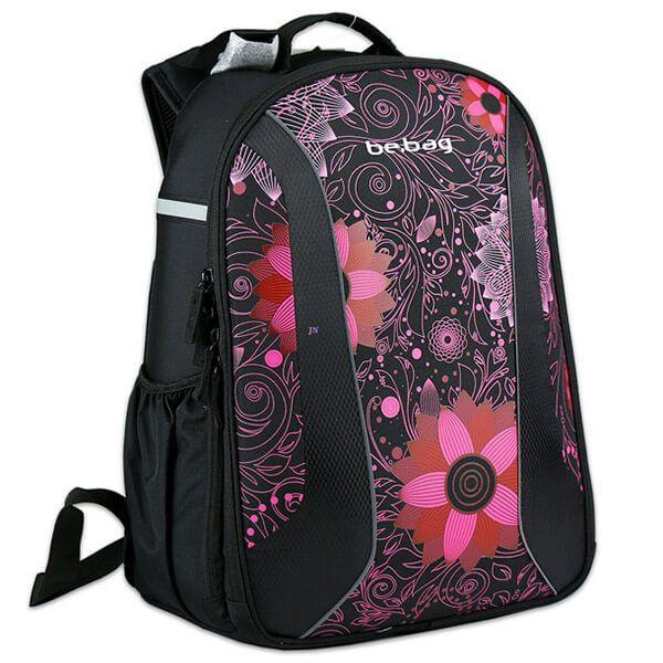 Herlitz Be.Bag Airgo Ornament Flower iskolai hátizsák - virágos
