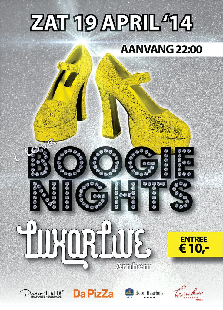 19 April | Boogie Nights @ Luxor Live #70s #80s #dance