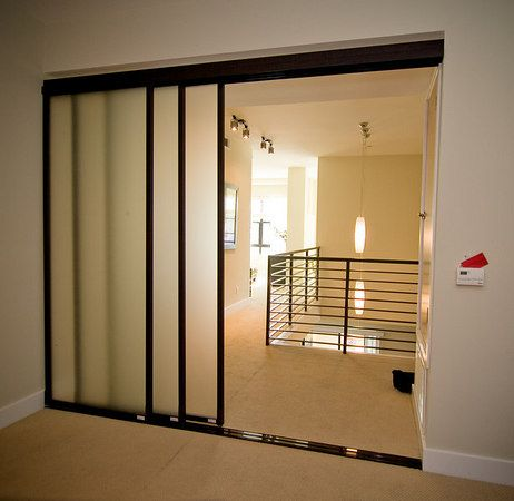 Glass Door Room Divider