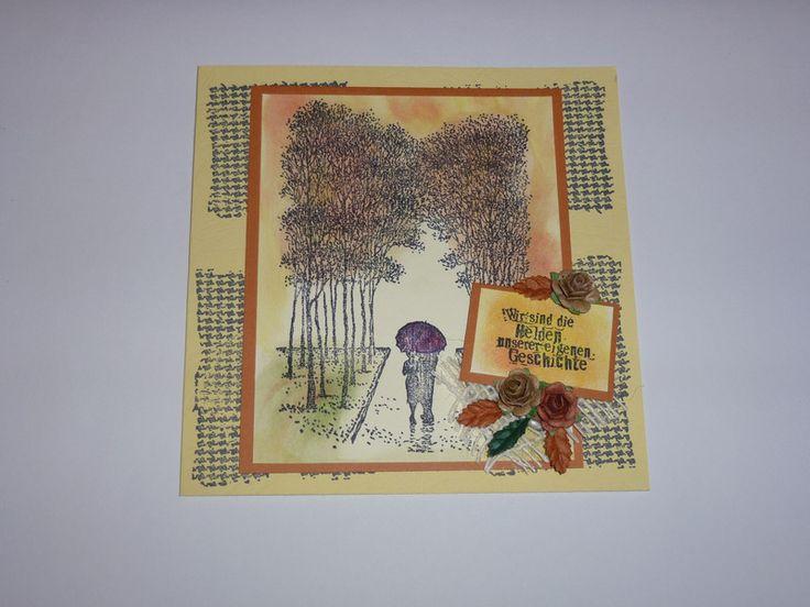 Weiteres - 3D Karte~Herbst~Nr.244 - ein Designerstück von Corinnas-Dekomomente bei DaWanda