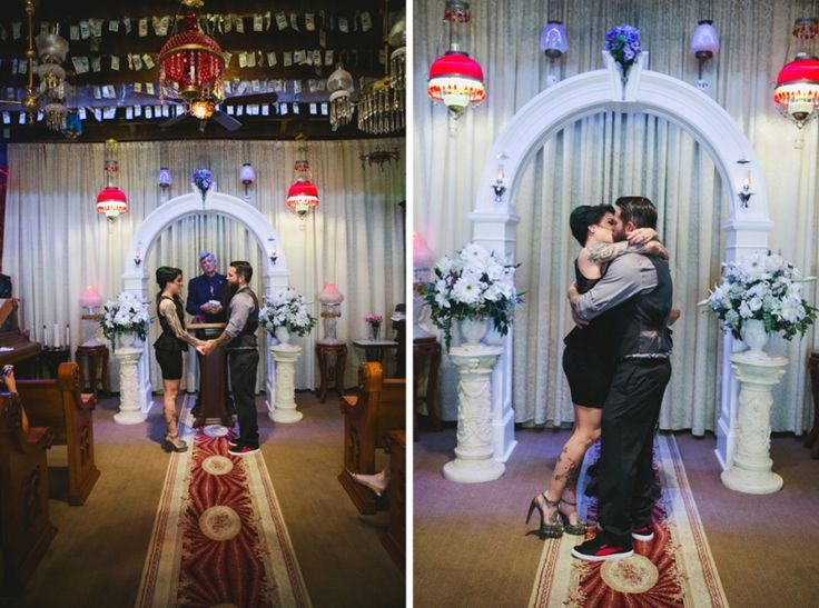 Ron Elisa French Quarter Wedding Chapel Sylvain New Orleans