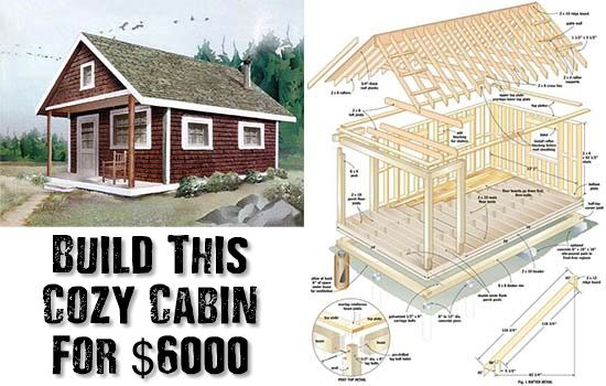 25 best ideas about cheap log cabin kits on pinterest for Log home plans with cost to build