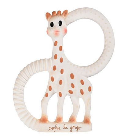 So'Pure Sophie Giraffe Teething Ring