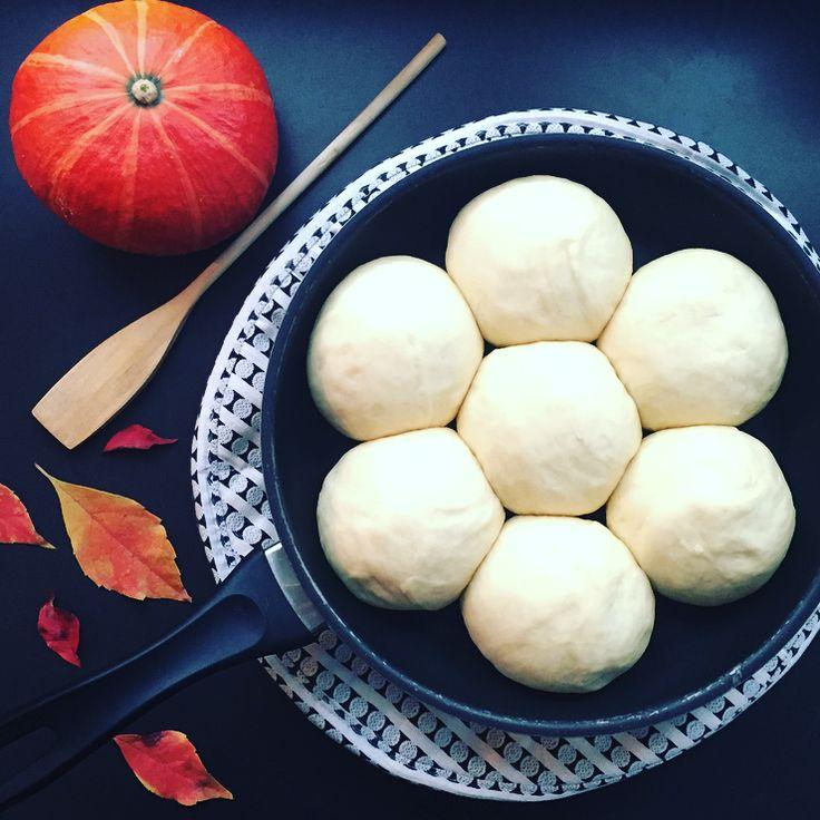 Ein tolles Rezept für Herbsttage. Probier es aus und finde heraus ob du die Dampfnudel lieber deftig mit Suppe oder süß mit Vanillesosse magst.