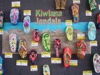 Kiwiana jandals Kiwiana study  Year 5 & 6, Teacher: Deanne Ellis,  Blockhouse Bay Primary School, Auckland. http://sheenacameron.co.nz/gallery.html