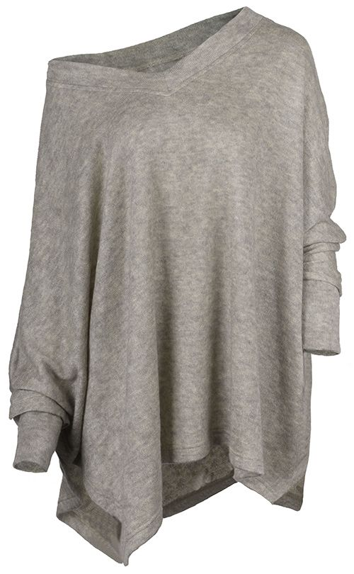 Take thus free style with $21.99 Only and easy return&refund! This V-neck top detailed with bat sleeve/side slits gonna keep you cozy/chic all the time! Check out all the sophisticated styles at Cupshe.com! ^_~*