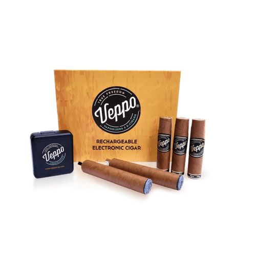 Center of the universe for the best rechargeable electronic cigars. The Veppo e-cigar has gained a reputation for enjoyment and satisfaction. Click or call 1-888-566-1836
