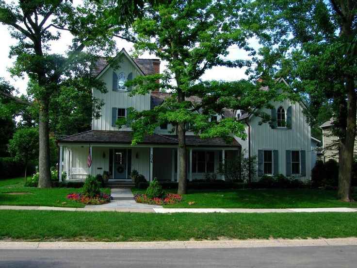 Farmhouse Exterior By Edward Deegan Architects American Gothic Featured In Houzz L