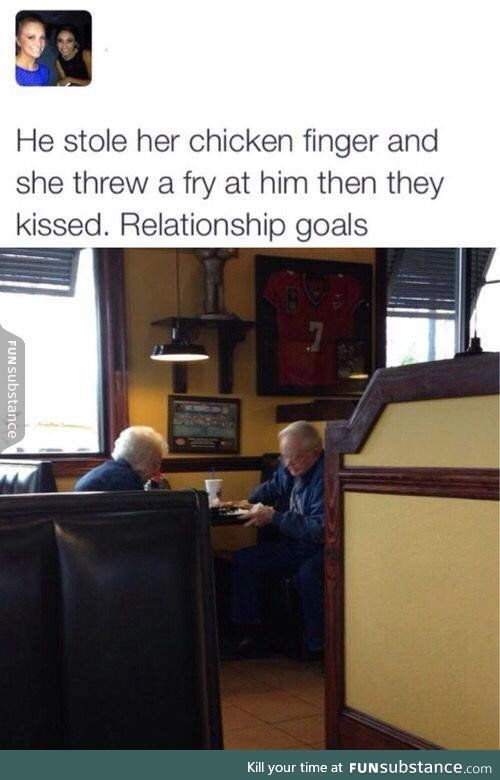 Little old couples are the cutest
