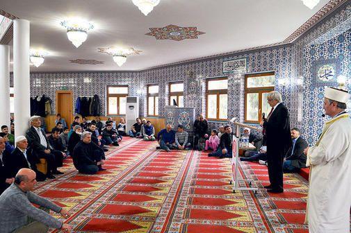 Rolf-Georg Köhler spricht in Göttinger Ditib-Moschee