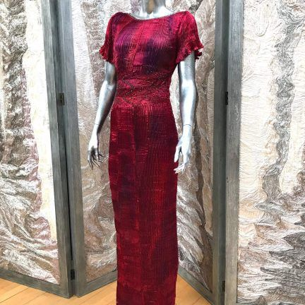 Latest stock in Liberty of London Bespoke Couture Art one-off creations by special order or select from collections in store.  @libertylondon 0423 lauder dress 01w