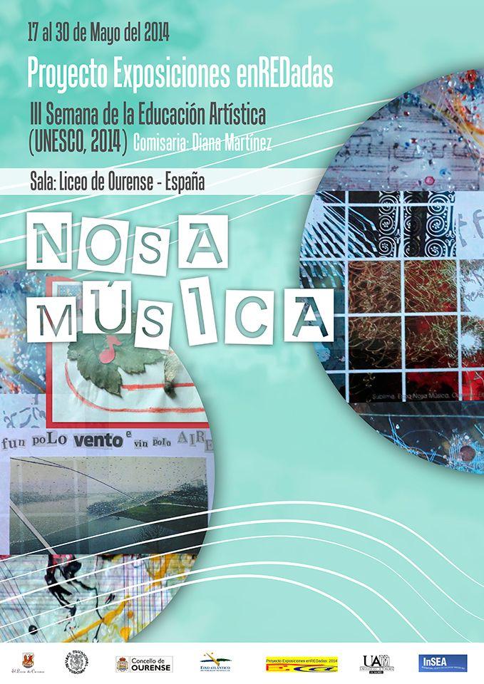 Cartel Nosa Música - Diseñado por Amanda Dicha