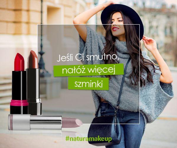#szminka #makeup #naturamakeup #makijaz #pomadka #usmiech #kosmetyki #drogerienatura