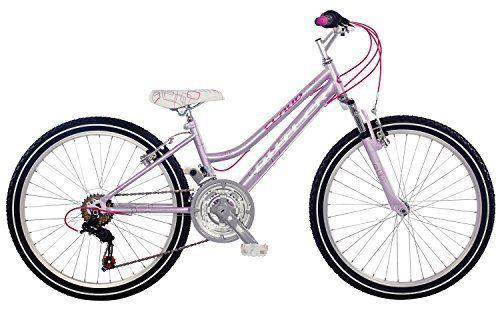 Claud Butler Essence Girls 24 inch Wheel Pink Junior Bike