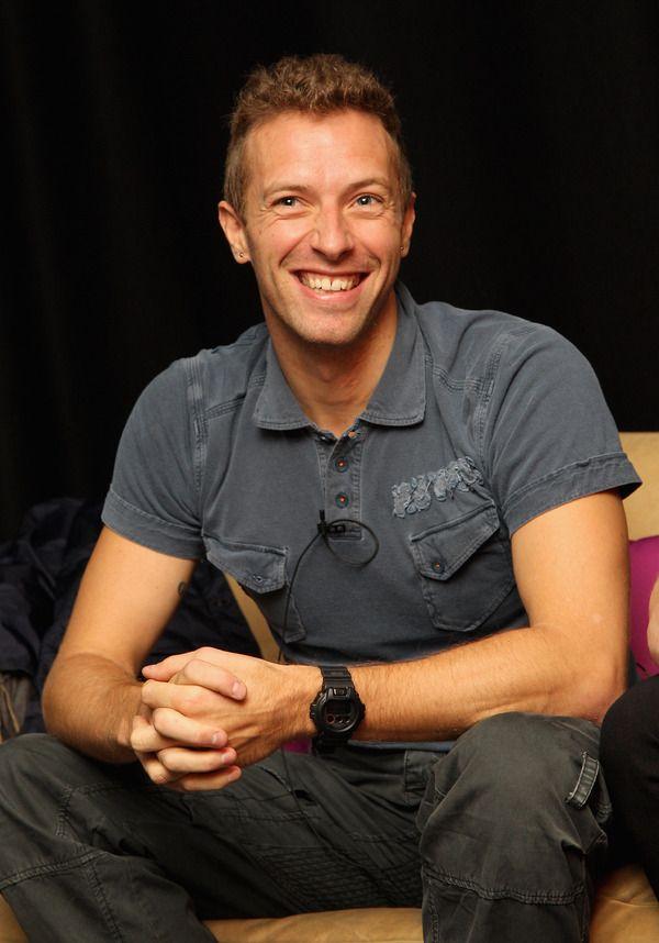 アーティストグループ・コールドプレイのボーカル、クリス・マーティン