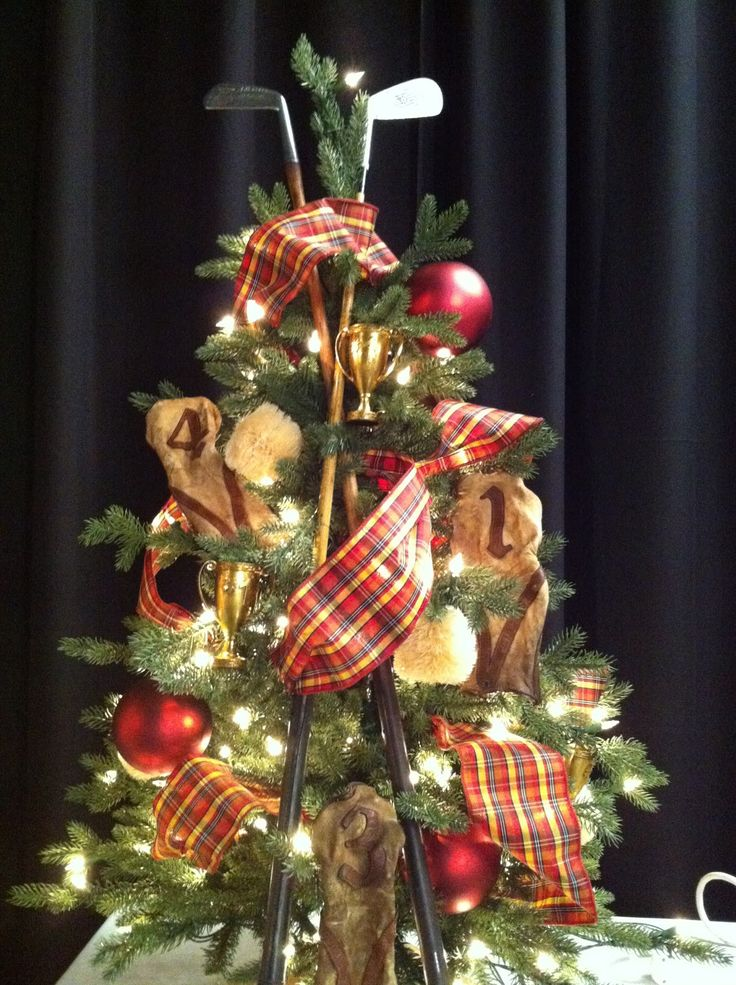 super cool christmas tree with golf theme more golf ideas for christmas at - Christmas Tree Shop Careers
