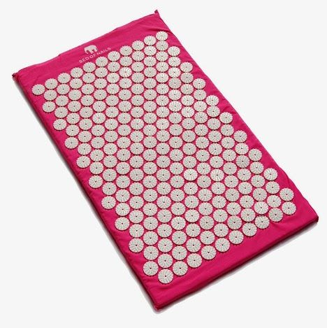 Get Relaxing in the New Year with Bed of Nails Mat in Pink - works using acupressure! (sponsored)