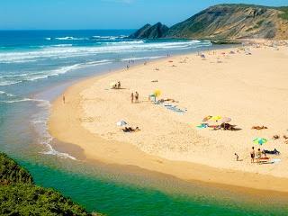 Praia da Amoreira.