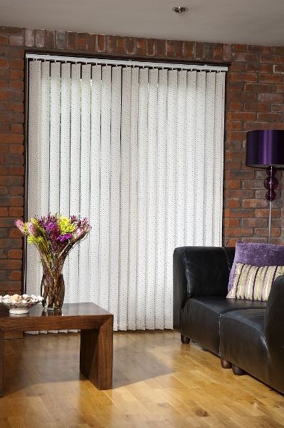 Polka cream - Vertical blind fabric