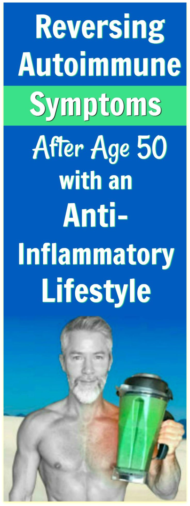 The good news is: the longer you stick with your new lifestyle habits, the easier it becomes to follow them. These tips could prove helpful as you begin experimenting with living an anti-inflammatory lifestyle and lessening your autoimmune symptoms. Get ready to thrive! #wellness #autoimmune #antiinflammatory #inflammation #healthier #over50 #nutrition #diet #protocol