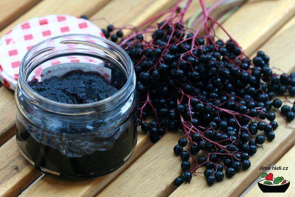Marmeláda z černého bezu