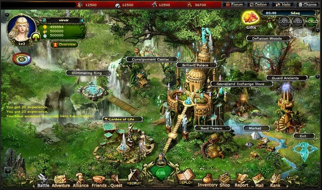 It's a war between the Gods! Build your army now in Call of Gods - #Games #Friendster #MMORPG