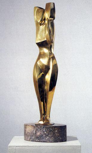 Marg Moll, Stehende mit Krug, 1928