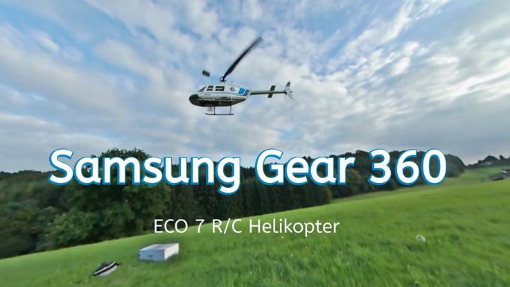 awesome Samsung Gear 360 RC Helikopter ECO 7