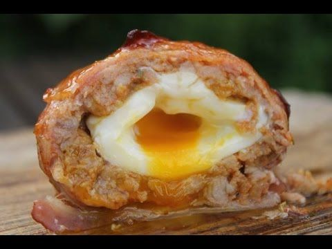 Scotch BBQ eggs - englisch Grill- and BBQ recipe - 0815BBQ - YouTube