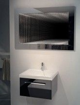The ultimate in style - our wide infinity mirror: http://www.illuminated-mirrors.uk.com/bathroom-mirrors/infinity-mirrors.html