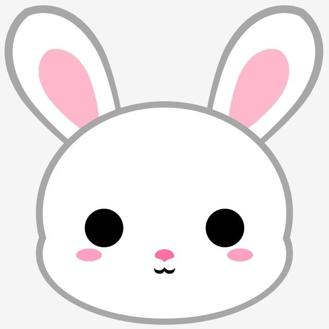 Cartoon White Bunny Head Cartoon Clipart Bunny Rabbit Png Transparent Clipart Image And Psd File For Free Download Cute Cartoon Drawings Cute Bunny Cartoon Cute Kawaii Drawings