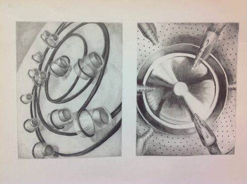 AP Drawing (XII): Household Objects