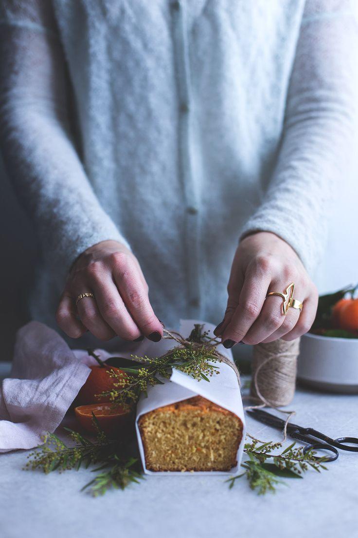 Clementine coconut cake - Carnets parisiens