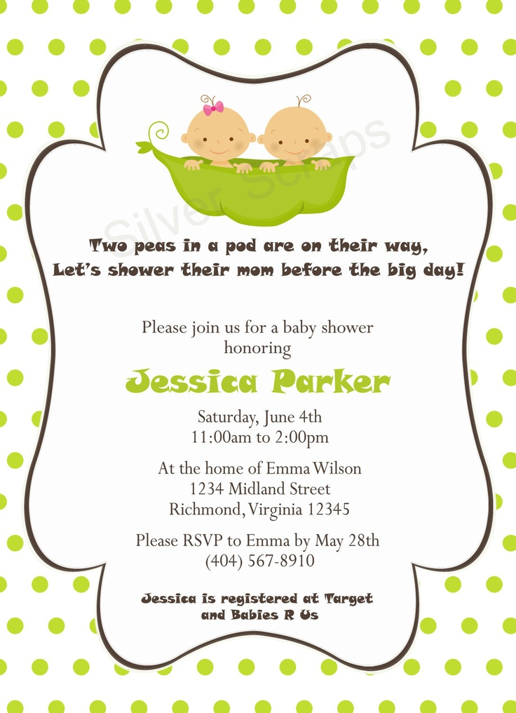 best baby shower for twins  multiple births images on, Baby shower