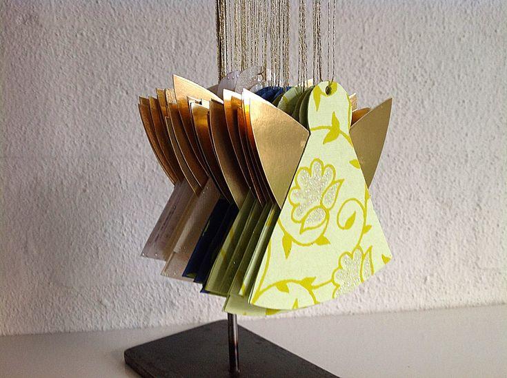Bellas bedrifter: Smukke enkle papirengle...