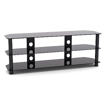 "G-vo 3 #shelf #black glass tv #stand for finlux 42"" 42s7080 full hd 3d led tv,  View more on the LINK: 	http://www.zeppy.io/product/gb/2/272339249794/"