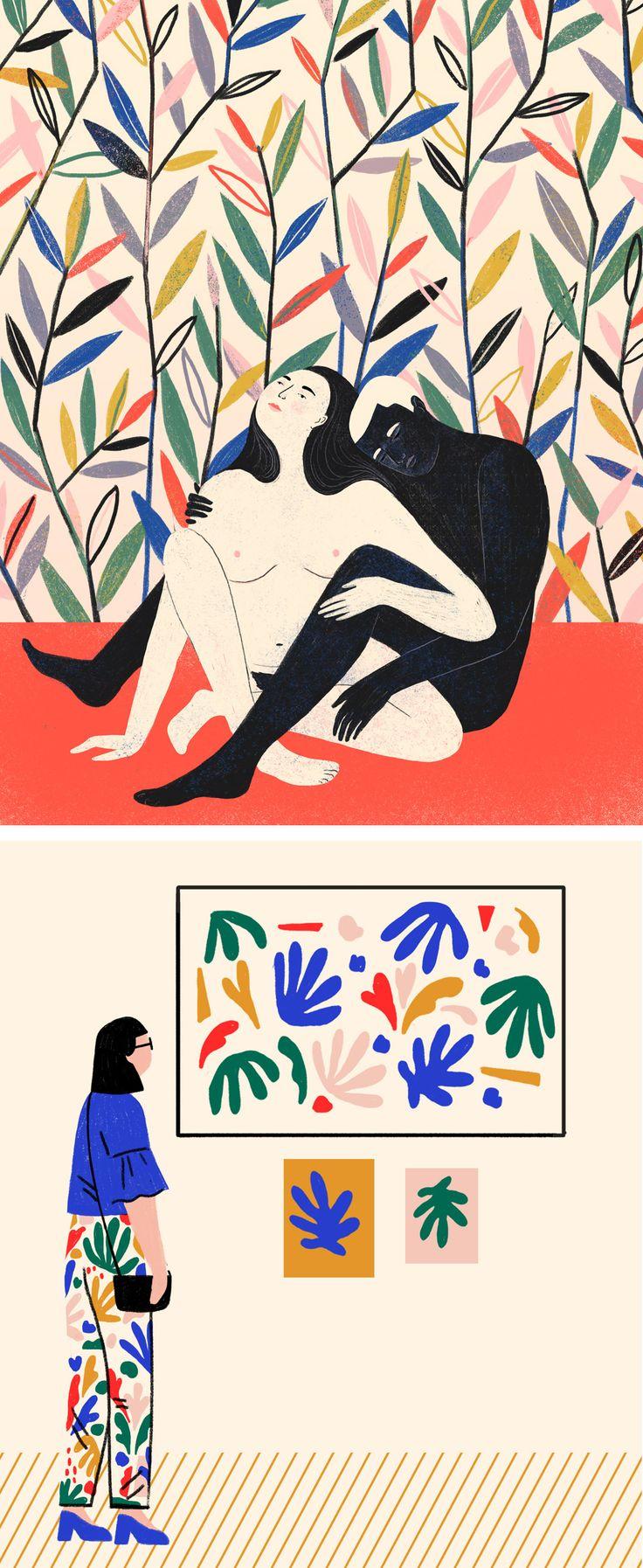 Abbey Lossing illustration // digital illustration // portraits // lifestyle illustration // creativity tips