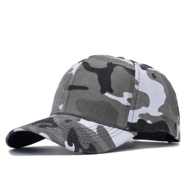 Snow Camo Military Cap