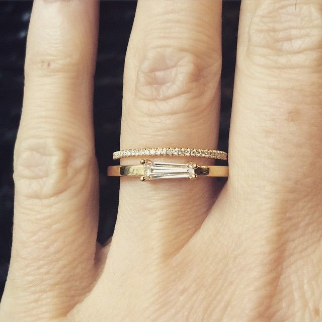 Tapered Baguette Ring -  Best minimal fashion styles delivered right to you ! Visit us now for great deals, ideas and products !