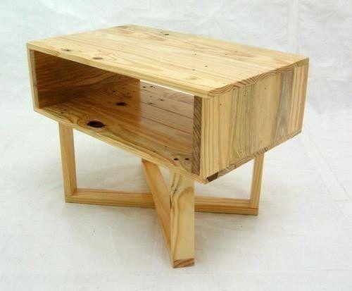 buro mesa recamara base de cama madera ecologica