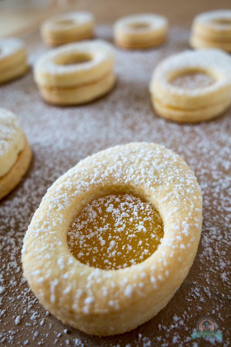 Osterei-Mürbeteigplätzchen mit Lemon Curd - Powered by @ultimaterecipe